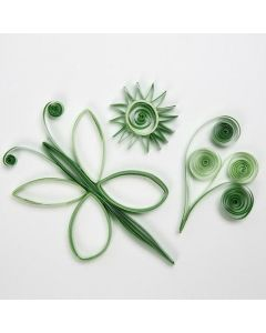 Paper Shapes made from Quilling Paper Strips