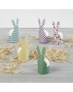 An Egg Cup from patterned Card