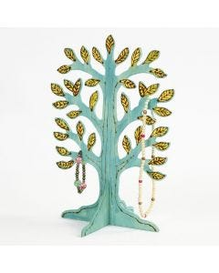 A free standing Tree with branded and painted Details