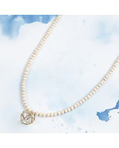 Necklaces with golden Pendants