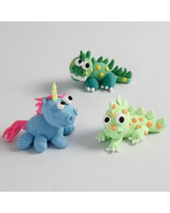 Silk Clay Fairytale Creatures