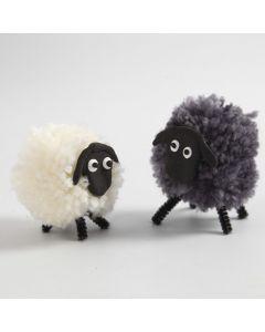 Pom-pom Sheep