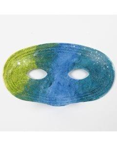 Painting on Plastic Masks