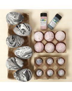 Marbled Plastic Eggs