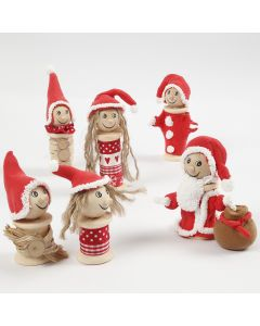 Elves made from Bobbins