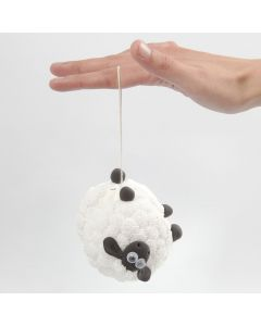 A Shaun the Sheep yoyo with Foam Clay