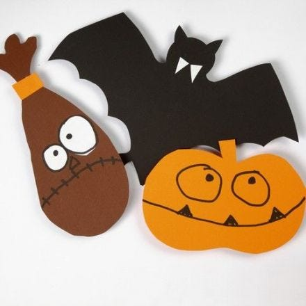 Templates for Halloween Shapes