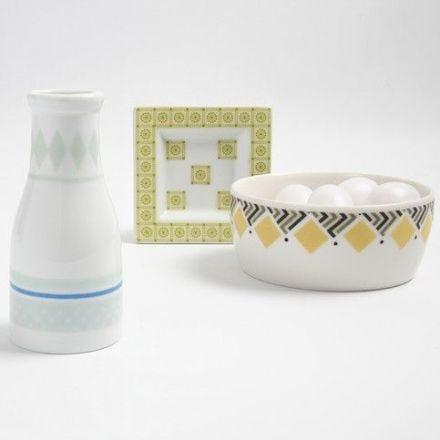 Masking Tape on Porcelain