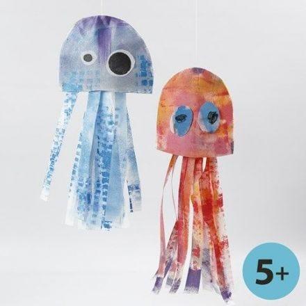 Jellyfish and Stinging Jellyfish made from Imitation Fabric