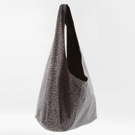 A lined Bag made from organic Cotton Fabric