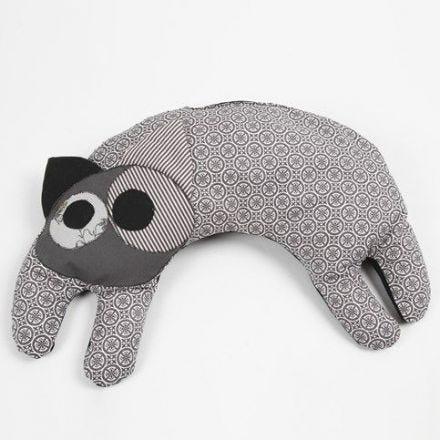 A Cat Heat Pad made from Organic Design Fabric
