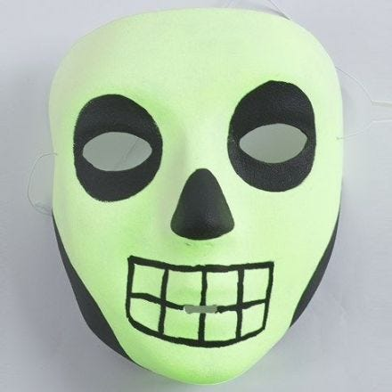 A luminescent Mask for Halloween