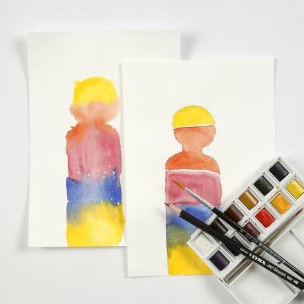 Watercolour Blocks in Practise