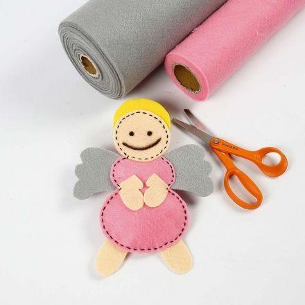 An Angel made from Craft Felt
