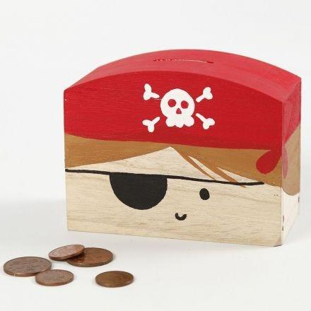 A Pirate Money Box
