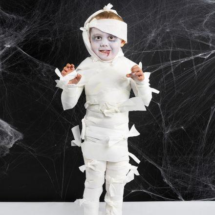 A Mummy Halloween Costume