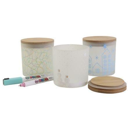 Decorative storage jars with beautiful designs