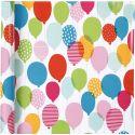 Gift wrap, balloons, W: 57 cm, 80 g, 4 m/ 1 roll