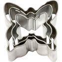 Metal Cutters, butterfly, size 40x40 mm, 3 pc/ 1 pack
