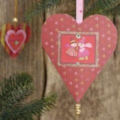 A Vivi Gade heart-shaped Cone