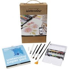 Watercolour Discover kit, A5, 200 g, 1 set