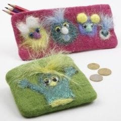Needle-felted Creatures