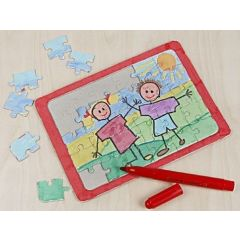 A Papier-mâché Jigsaw Puzzle