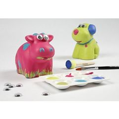 Animal Money Boxes with Plus Color