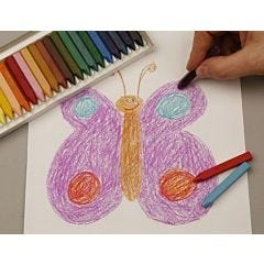 Hard Oil Crayons