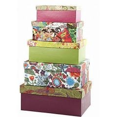 Decorated Storage Boxes