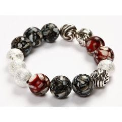 A Bracelet with Shell Beads