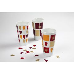 Mugs with Color Decor
