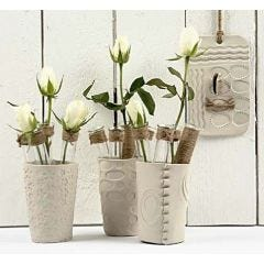 Vases of Self-hardening Clay