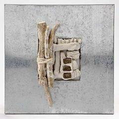 A simple Zinc Frame with Papier-Mâché Pulp