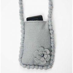 A Mobile Phone Bag in Felt
