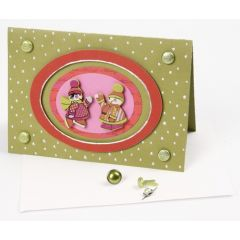 A card decorated with a Pearl Pen