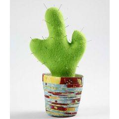 A Cactus in a Paper Pot