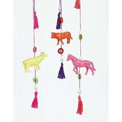 Bohemian Farm Animals on a String