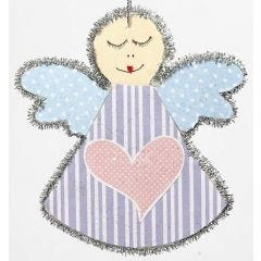 A Wooden Angel for Hanging