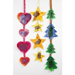Hanging Christmas Decorations for the Window