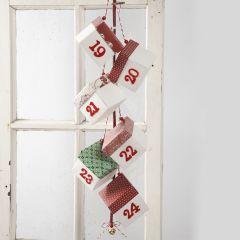 A Christmas Calendar with Folding Boxes