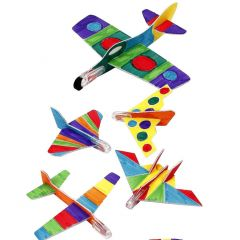 Airplanes with Colortime Markers
