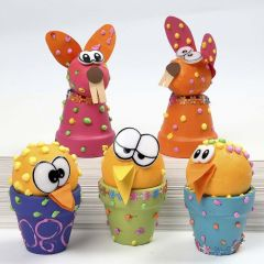 Puffed Up Easter Creatures