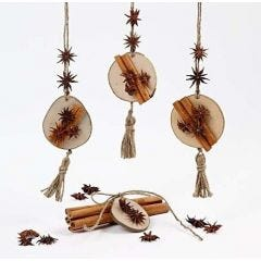 Hanging Decorations made from Natural Materials