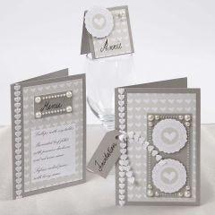 Wedding Cards with Skagen Paper