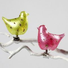 Glass Birds with 3D Glass Gel