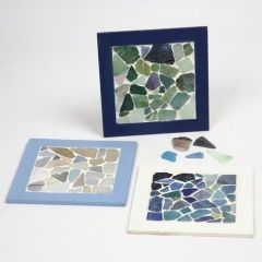 A Collage Frame with Mosaic
