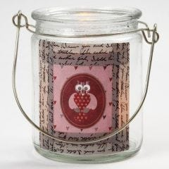 A Candle Holder with Masking Tape