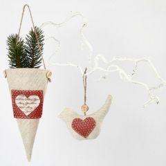Hanging Fabric Decorations with Design Felt