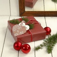 A Gift with a Woven Heart